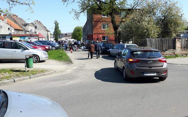 parkowanie na rynku