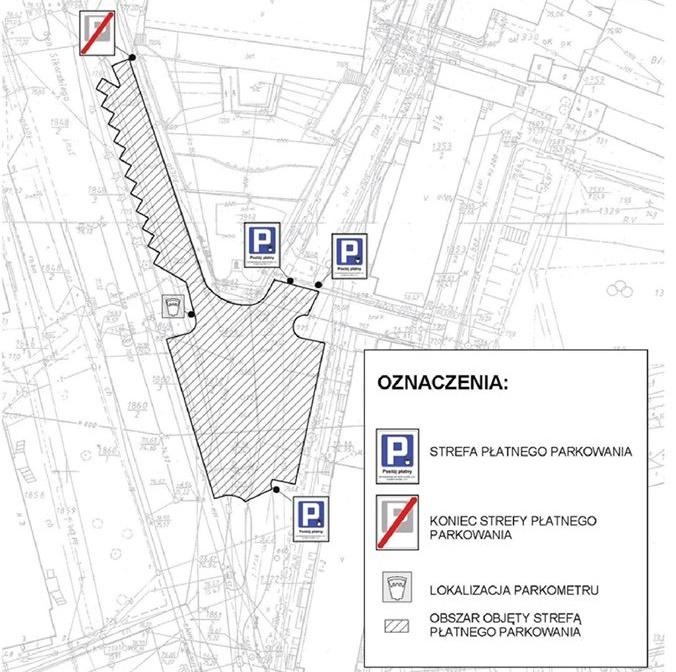 Trzcianka - Strefa płatnego parkowania
