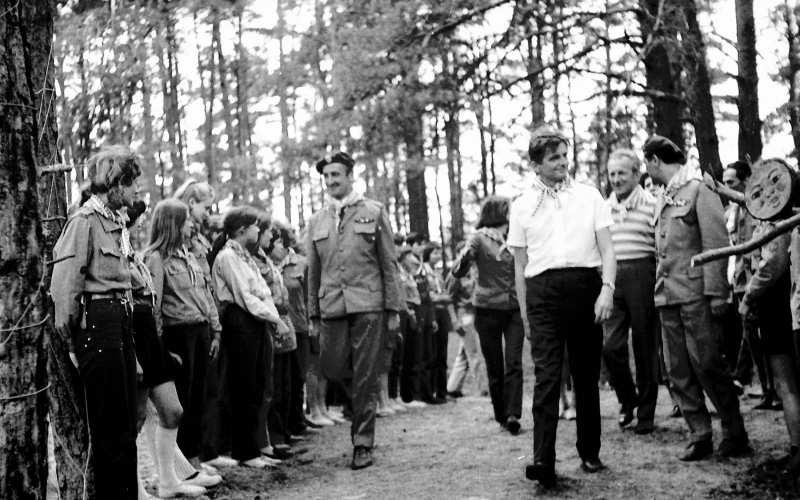 Lato 1970 - Obóz harcerski