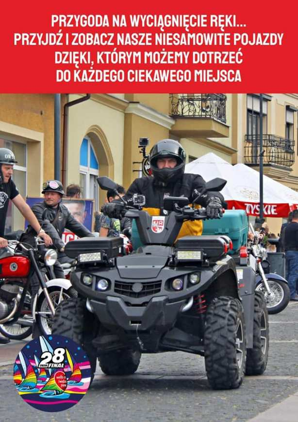 Trzcianka - Motocykliści na 28 Finale WOŚP