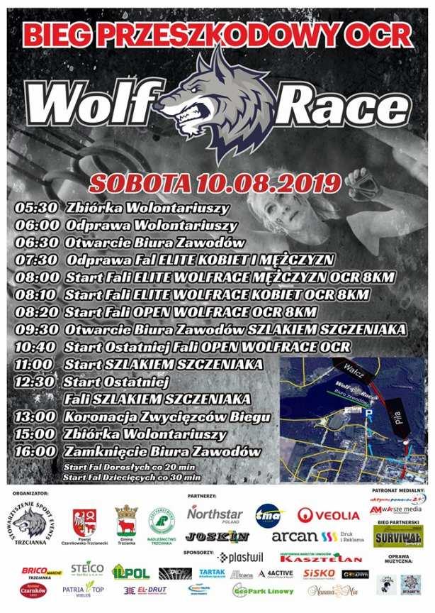 II edycja ekstremalnego biegu survivalowego z przeszkodami WOLF RACE.