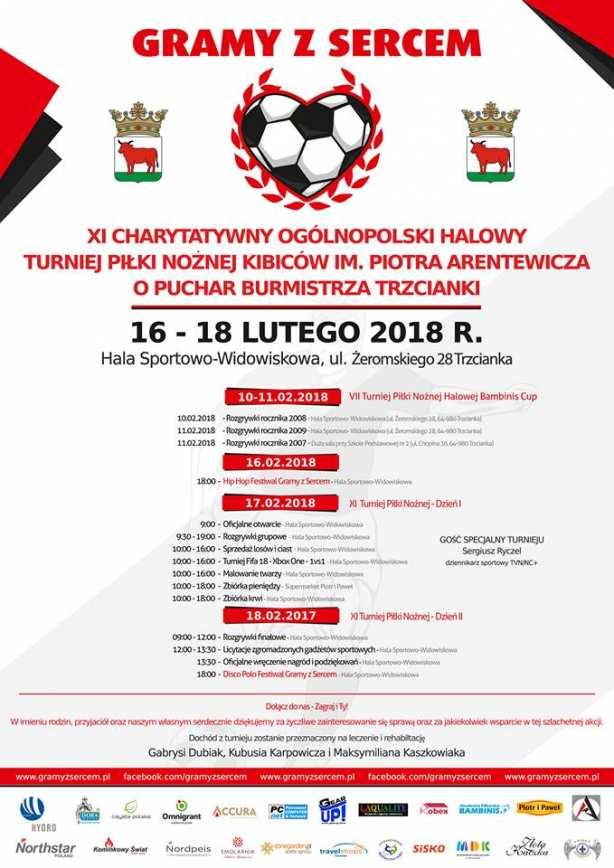 XI Charytatywny Ogólnopolski Halowy Turniej Piłki Nożnej Kibiców